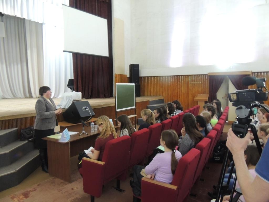 мастер -класс Цветухиной М.В. по журналистике